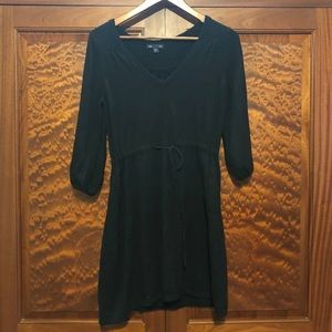 Gap black sweater dress size medium